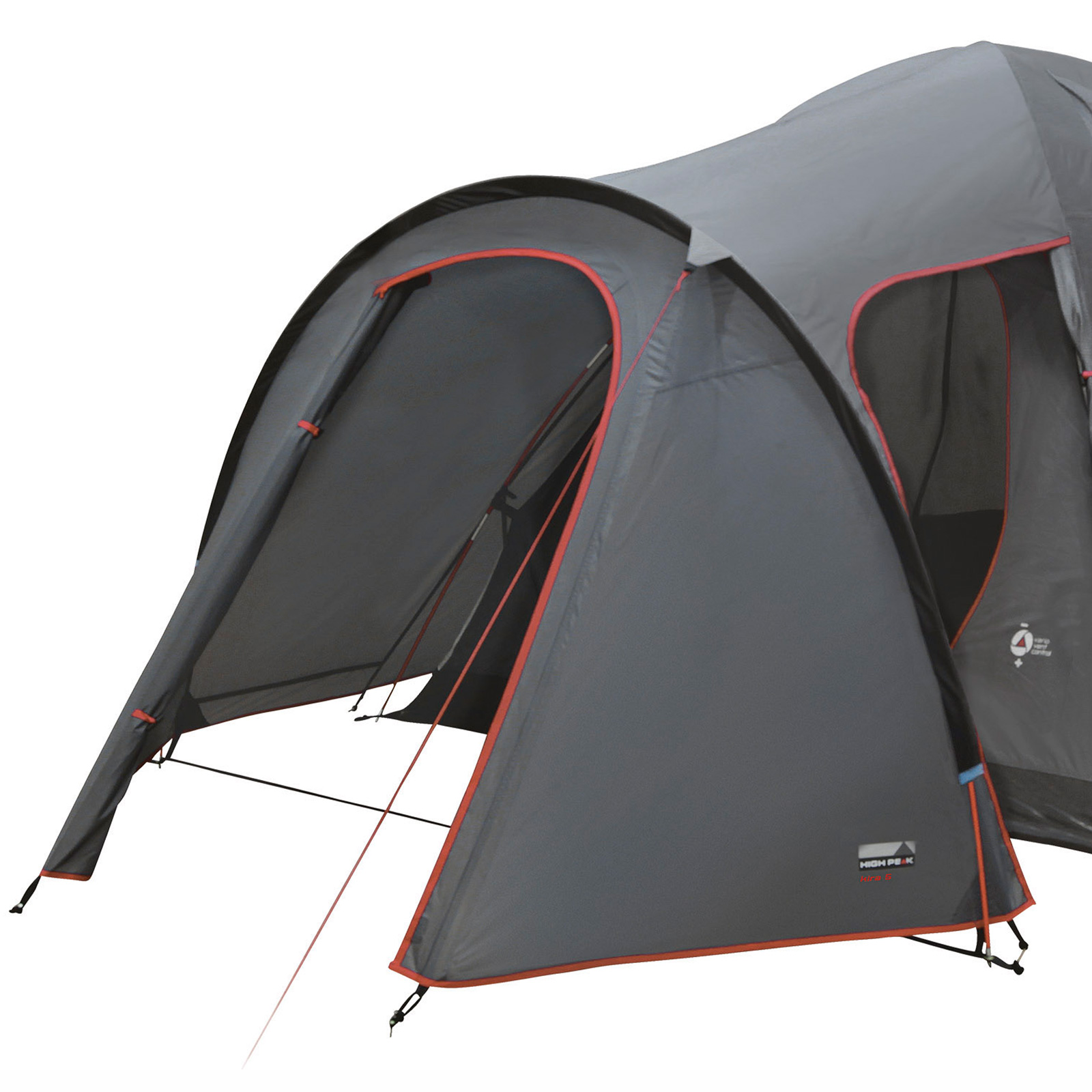 HIGH PEAK Iglu Zelt Kira 5 Personen Camping Kuppelzelt Trekkingzelt Outdoor