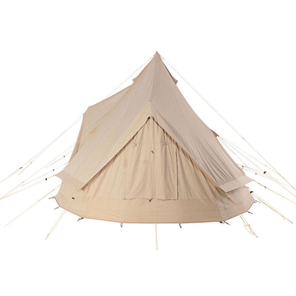 NORDISK Vanaheim 40 Firstzelt 6-20 Personen Familien Zelt Campingzelt Baumwolle
