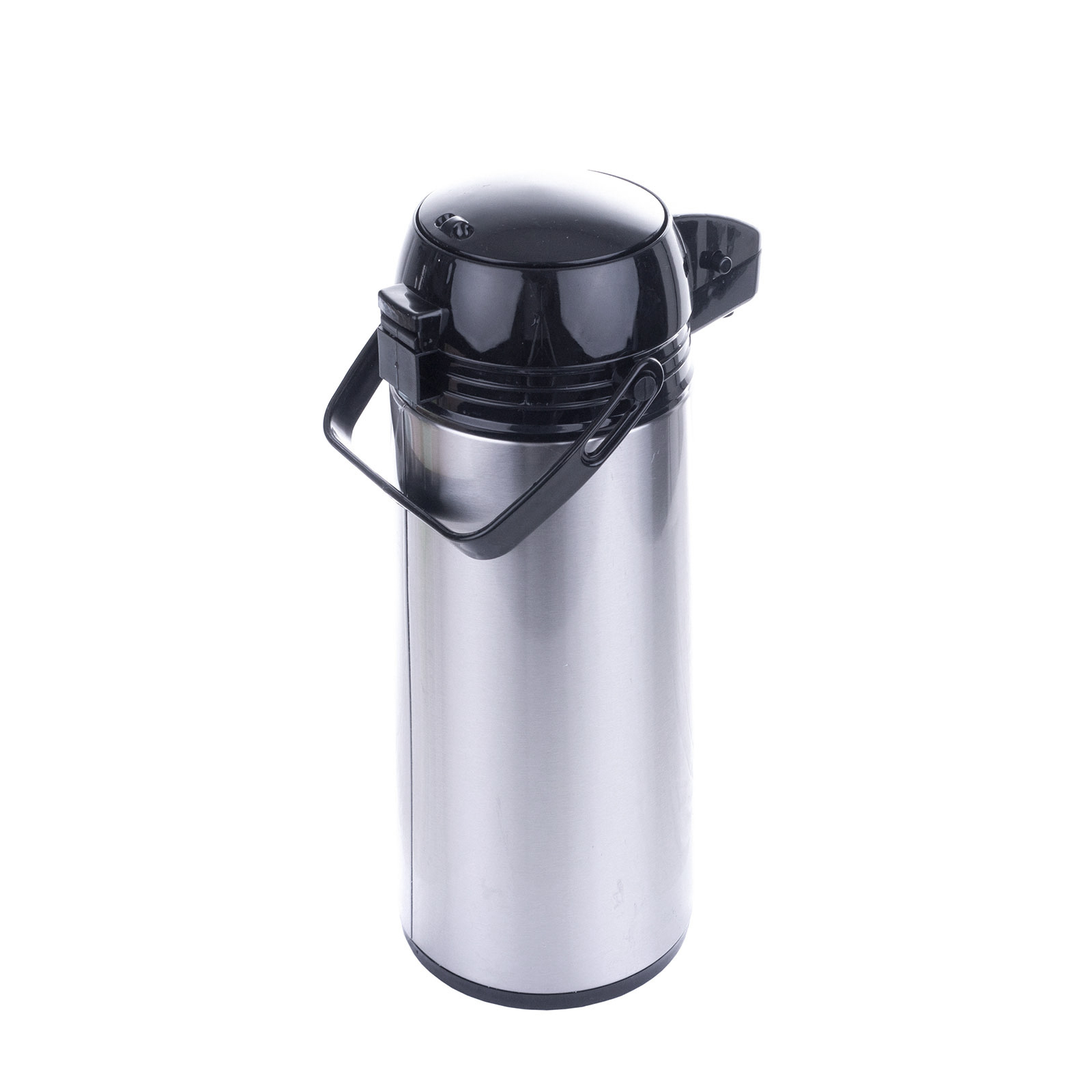 airpot 1 9 l pumpkanne isolierkanne thermo kanne kaffeekanne camping edelstahl ebay. Black Bedroom Furniture Sets. Home Design Ideas