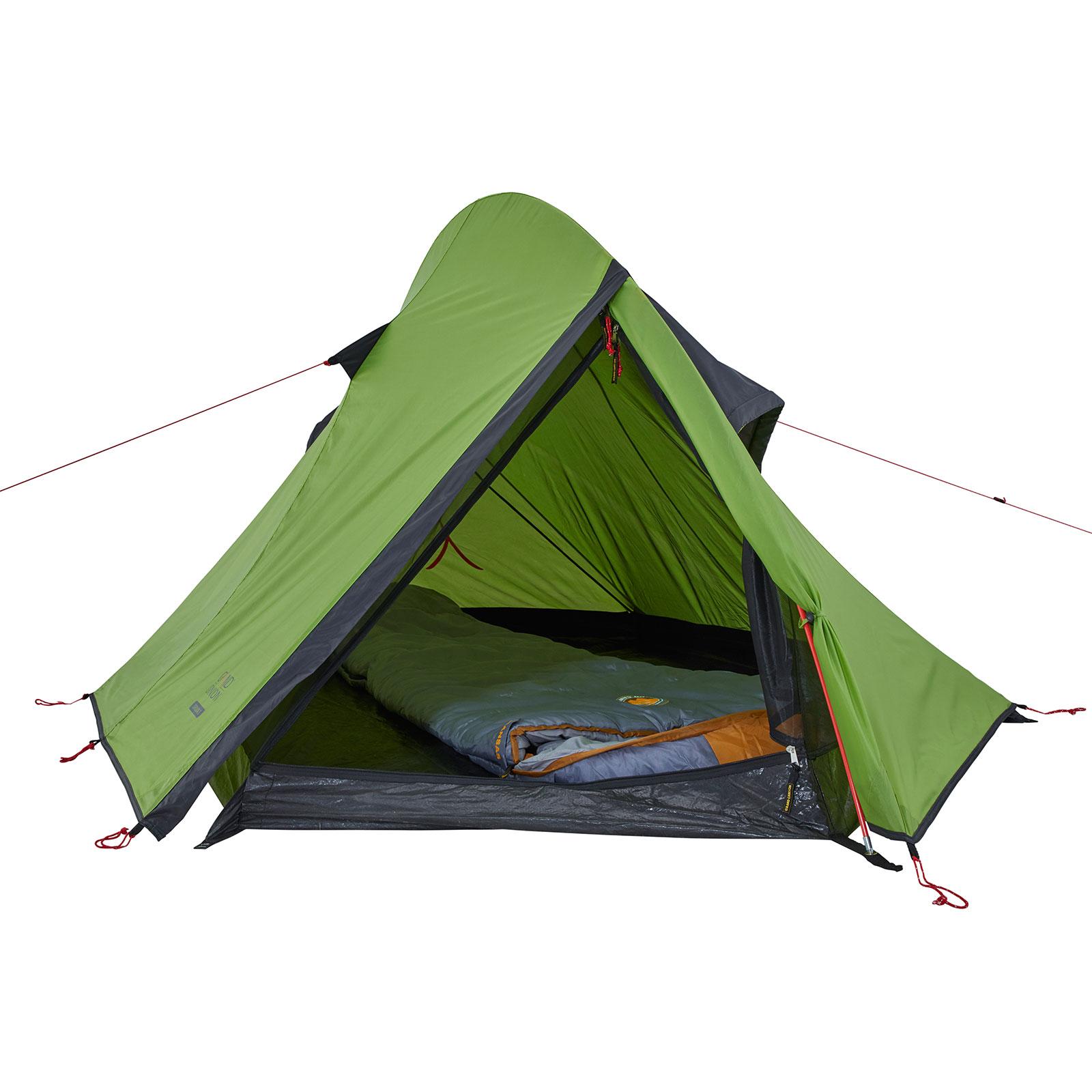 GRAND CANYON Cardova 1-2 Personen Trekking Zelt Einmann Einbogen Camping Leicht