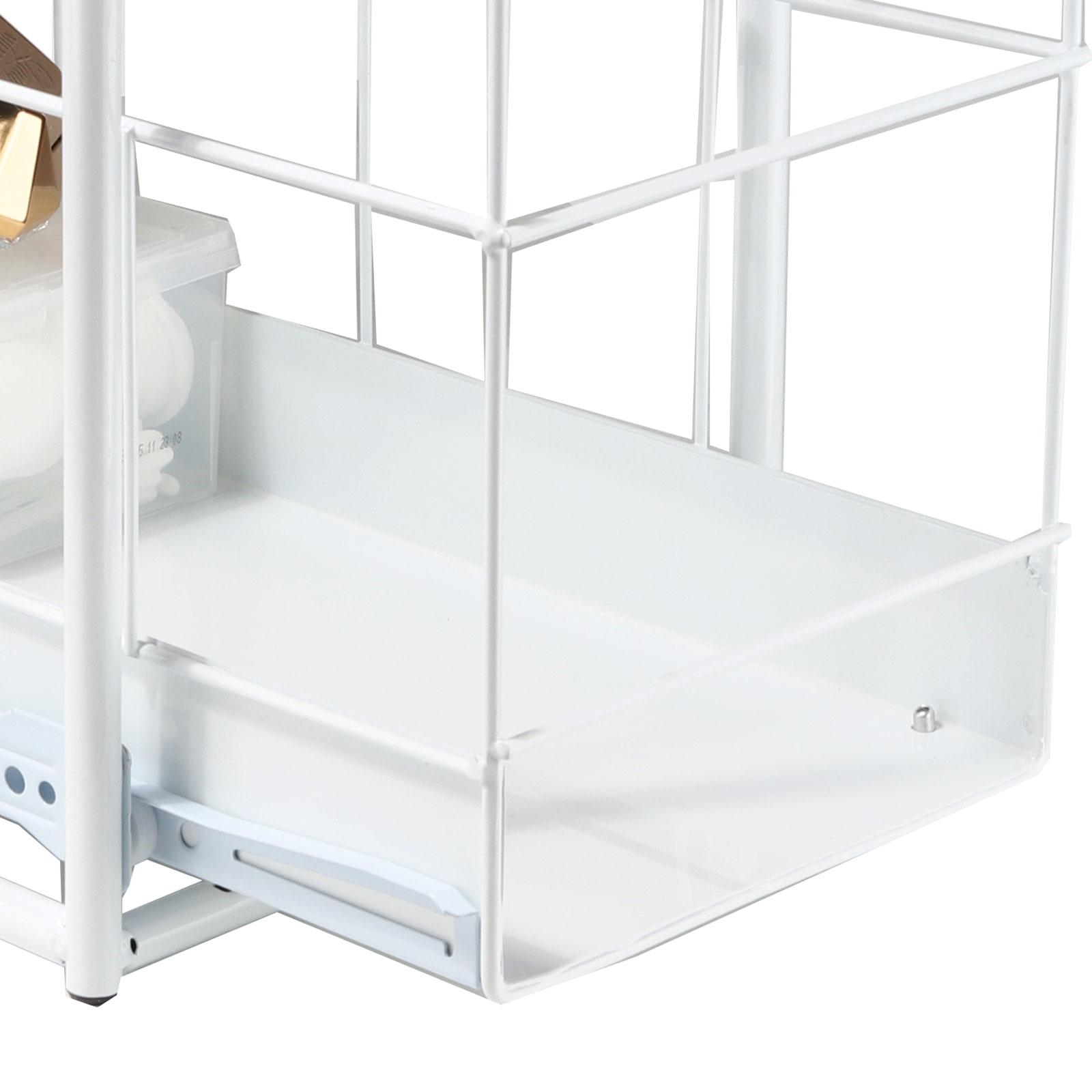 teleskop schublade k chen schrank auszug korbauszug einbauschublade sp lschrank ebay. Black Bedroom Furniture Sets. Home Design Ideas