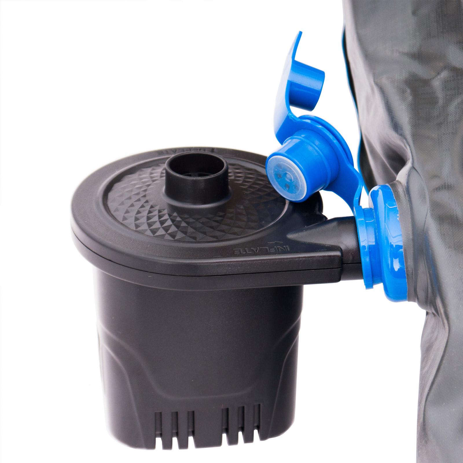 HUMAN COMFORT Akku Pumpe Camping Elektropumpe Luftpumpe Elektrisch USB aufladbar