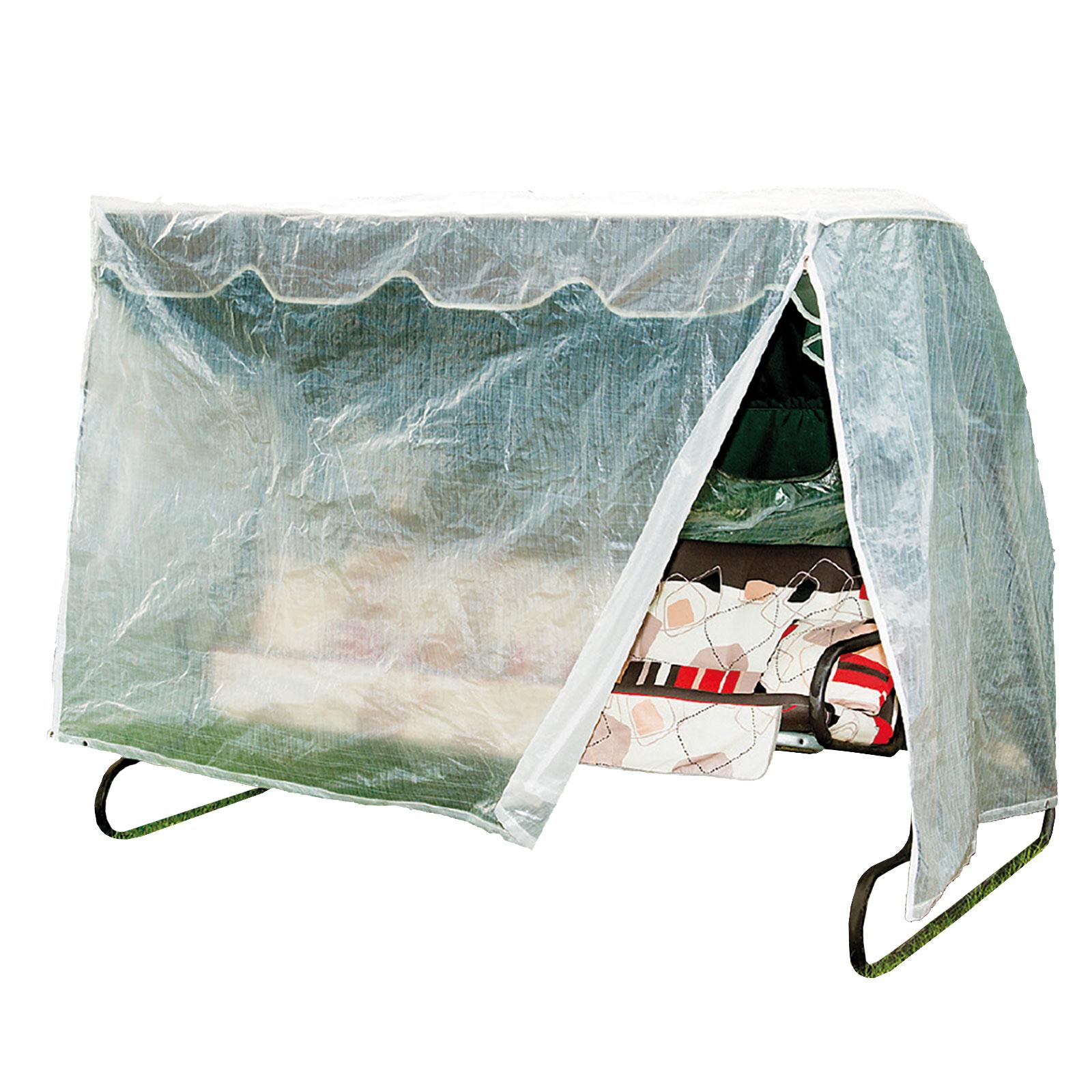 wehncke gartenm bel schutzh lle h lle plane abdeckung abdeckplane transparent pe ebay. Black Bedroom Furniture Sets. Home Design Ideas