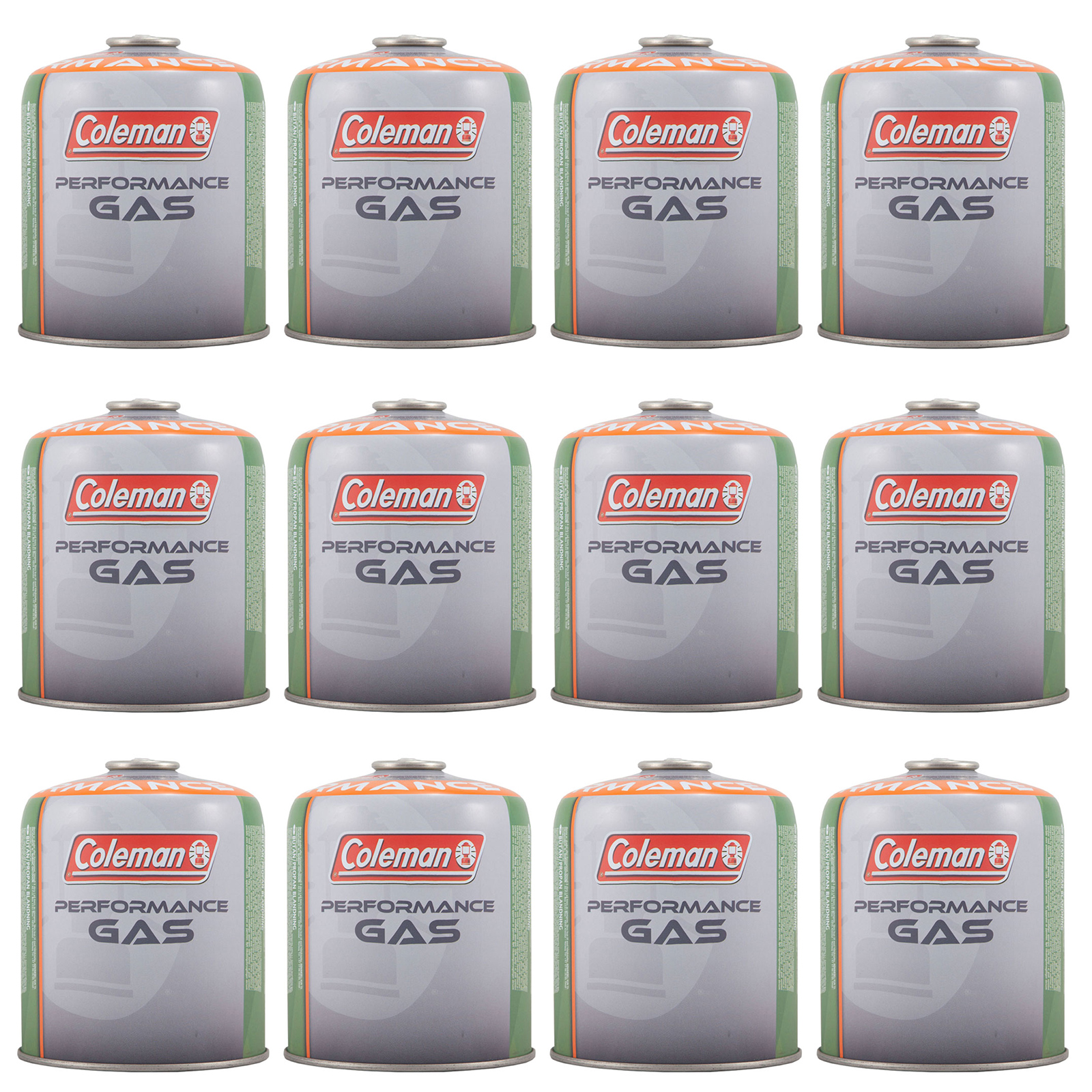 COLEMAN 3 x C500 Schraubkartusche 440 g Ventil Gas Kartusche Kocher Butan Propan