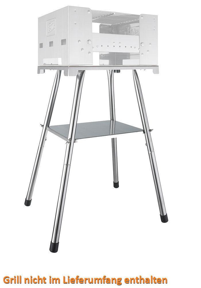 ESBIT Grillständer BBQ Box 300S Koffergrill Stand Gestell Untergestell Sockel