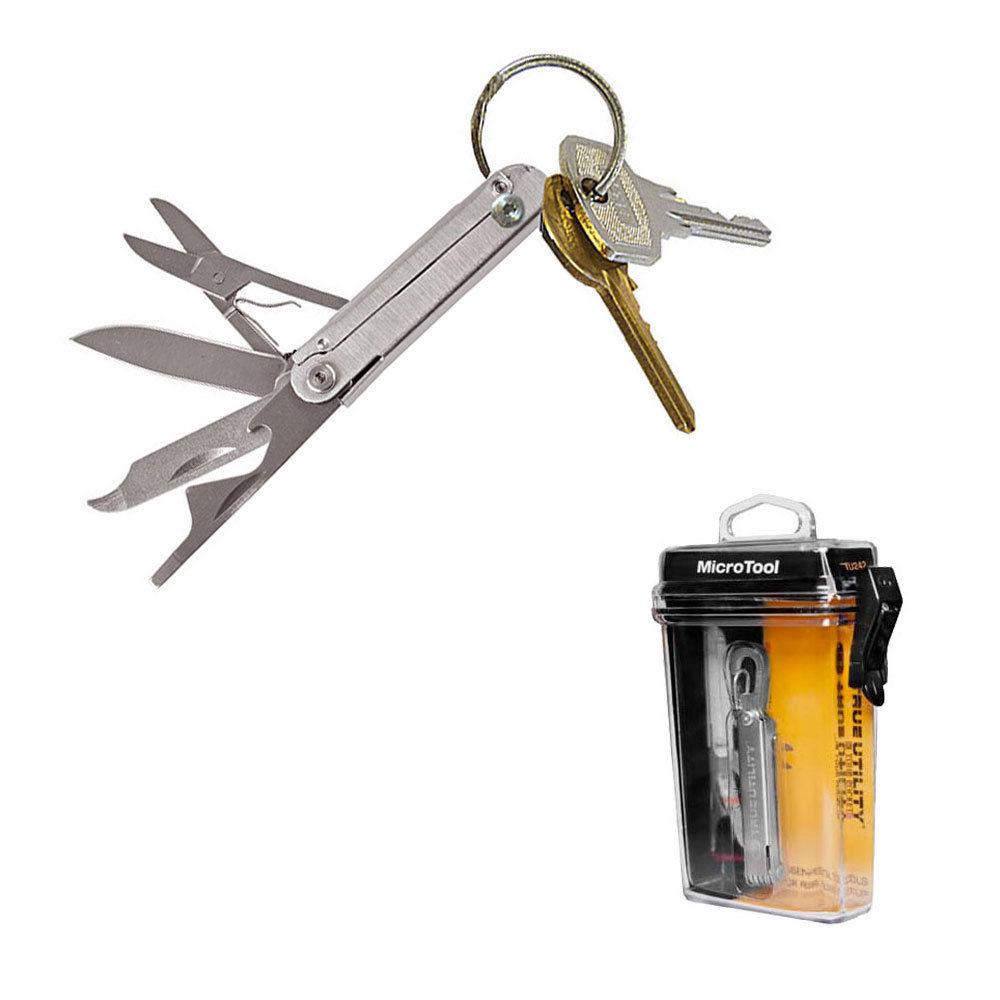 EDC Mini Multi Tool SmartKnife Taschenmesser Angeln Schlüsselanhänger-Neu
