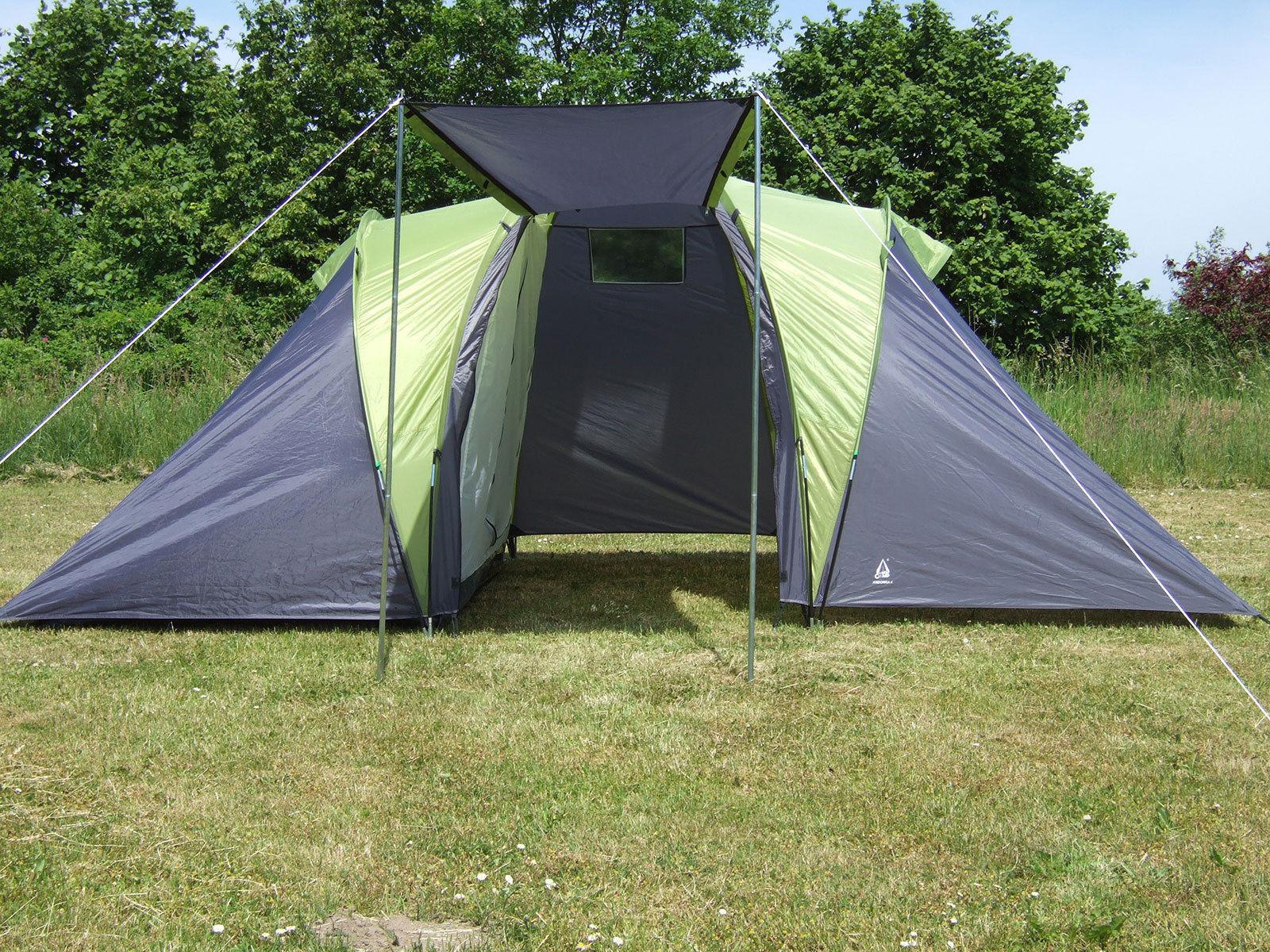 Zelt Explorer 4 : Explorer zelt sierra personen mann camping familienzelt