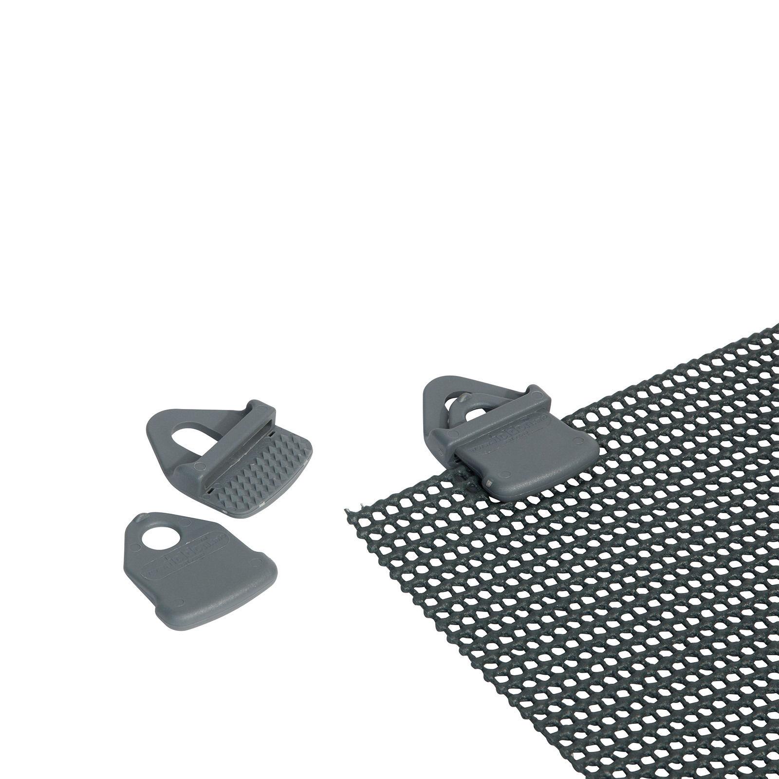 4 Universal Clips Zelt Teppich Boden Schnellspann Klemme