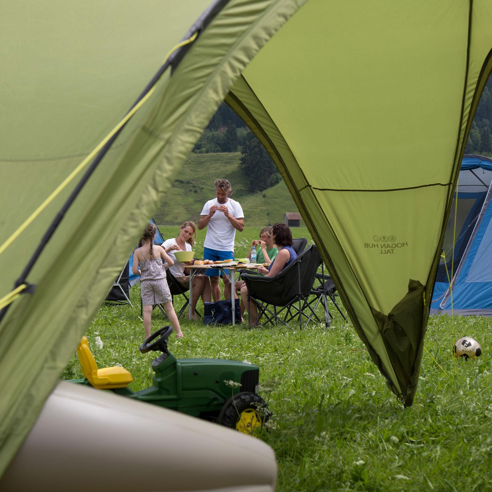Event Zelt Pavillon : Vango hogan hub medium festival pavillon camping zelt
