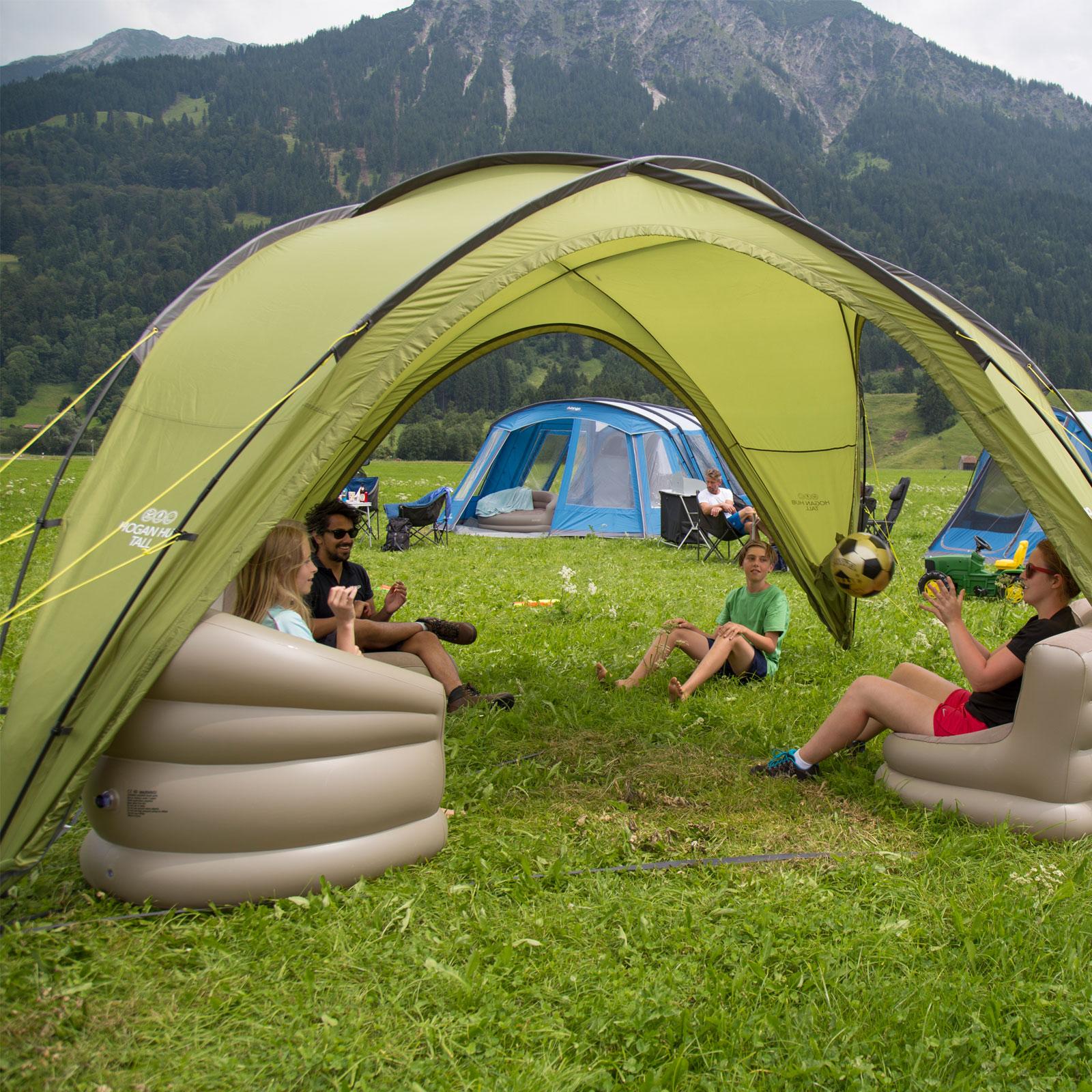 Gartenzelt Hamburg : Vango hogan hub medium festival pavillon camping zelt