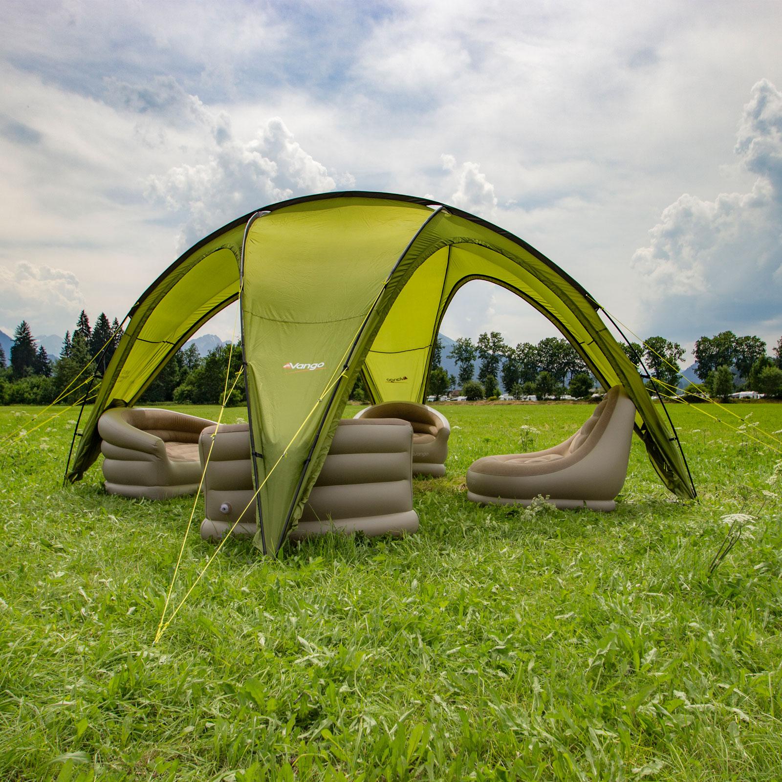 Gartenzelt Hamburg : Vango hogan hub large festival pavillon campingzelt garten