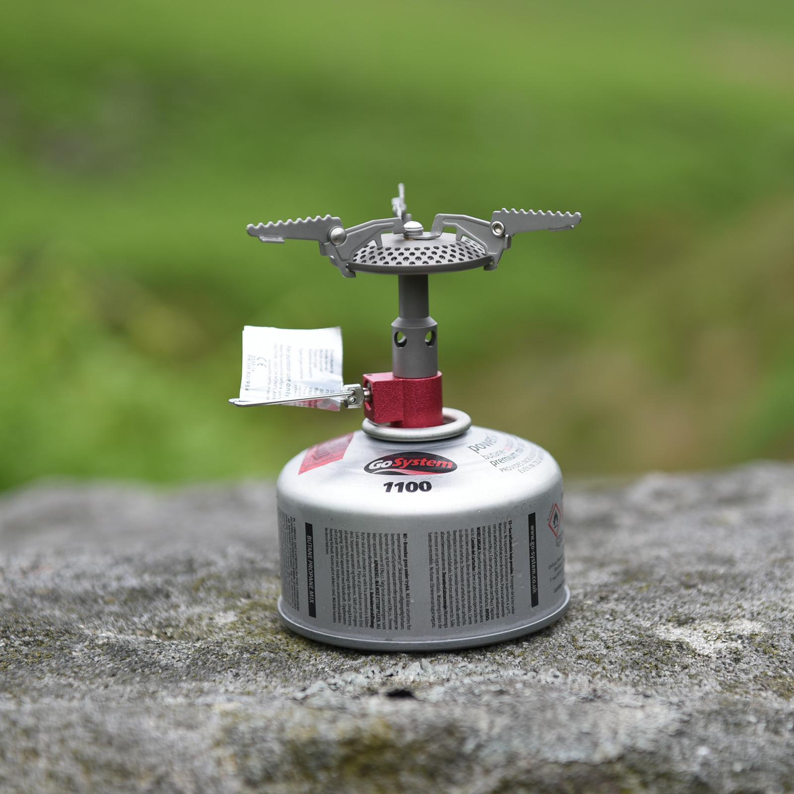 Go System Fly Titan Gaskocher 3000W 50g Campingkocher Trekking Outdoor Kocher